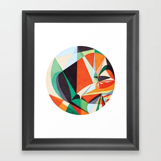 Idiom Framed Art Print
