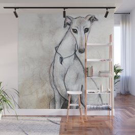 The Greyhound Wearing His Thorn Wall Mural