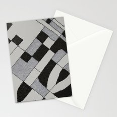 Silver Map 45 Stationery Cards