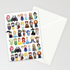Kokeshis Fairy tales (new version) Stationery Cards