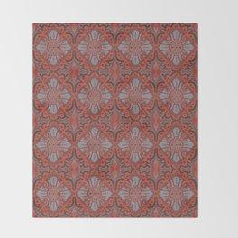 Sliced pomegranat Throw Blanket