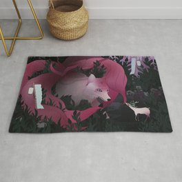 Spirits of the forest Rug