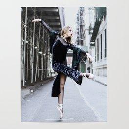 Alleyway Dancer Poster