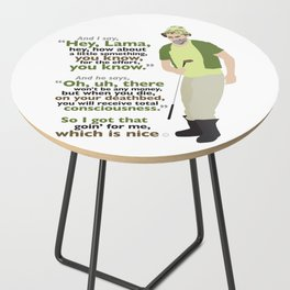 Carl Spackler and the Lama Side Table