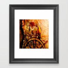 Monsieur Bone Pirate  Framed Art Print