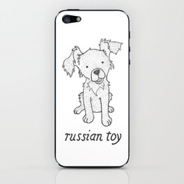 Dog Breeds: Russian Short Haired Terrier iPhone Skin