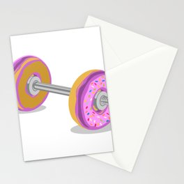 Donut Weight Artwork Stationery Cards