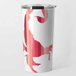 Fiery Striped Scorpion Travel Mug