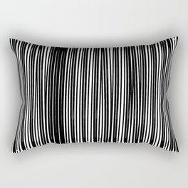 Black Ink | Japanese Atmospheres Rectangular Pillow