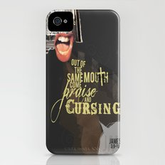 Out of the Same Mouth iPhone (4, 4s) Slim Case