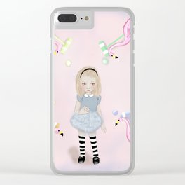 little Alice Clear iPhone Case