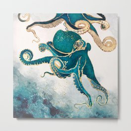 Underwater Dream V Metal Print