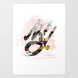 New York Street Corner Art Print