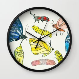 more bugs Wall Clock