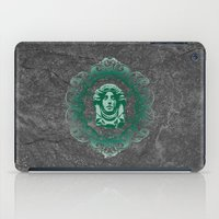 haunted mansion iPad Cases featuring Haunted Mansion - In Regions Beyond Now by Joel Dickinson