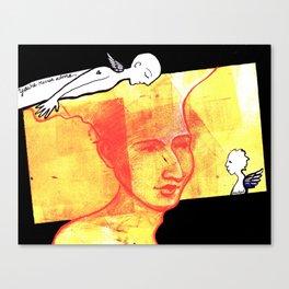 NEVER ALONE Canvas Print