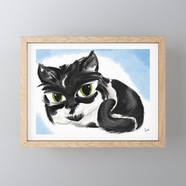 Naughty Cora Framed Mini Art Print