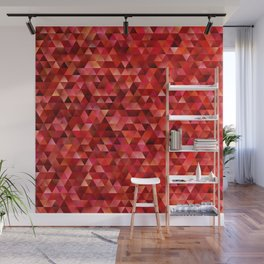 Bloody triangles Wall Mural