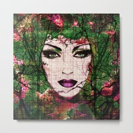 Forest Goddess by Lika Ramati Metal Print