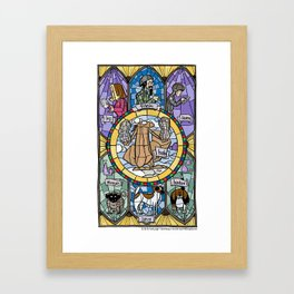 The Adoration of the Squirrel Framed Art Print