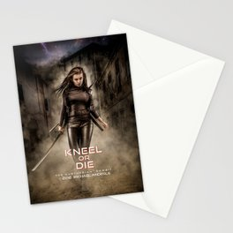 Kneel Or Die Stationery Cards
