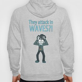 Guardian Ghost- THEY COME IN WAVES Hoody
