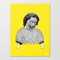 carmilla Canvas Prints featuring Carmilla by Mathilde Clement
