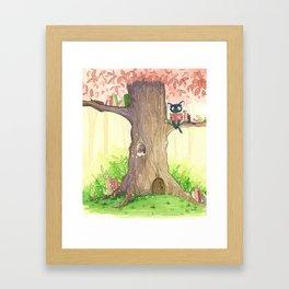 In the tree Framed Art Print