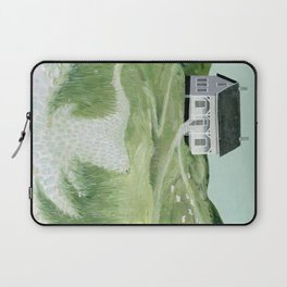 Cottage on the beach Laptop Sleeve