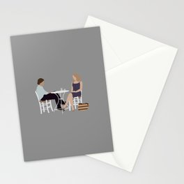 before midnight Stationery Cards