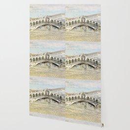 Rialto Bridge, Venice Italy Wallpaper
