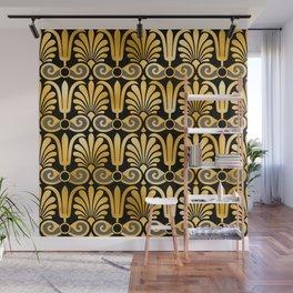 Art Deco 24-Karat Gold Egyptian Elegant Pattern Wall Mural