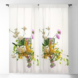 Wild flowers | Floral Photography Blackout Curtain