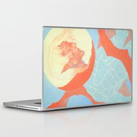 dragon age inquisition Laptop & iPad Skins featuring Dragon Age: Fenris by Couple Of Kooks