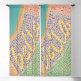 Bella / Beautiful Italy Beach Umbrellas - Aerial Italian Blackout Curtain