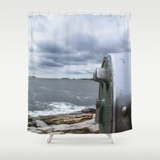 Ocean With a View Shower Curtain