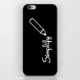 Simplify iPhone Skin