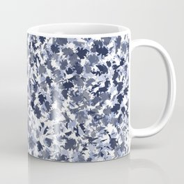 Blue abstract mimetic design Coffee Mug
