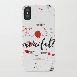 Quote from Illuminae by Jay Kristoff and Amie Kaufman iPhone Case
