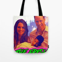 fresh prince Tote Bags featuring The Fresh Prince by Matheus Lopes