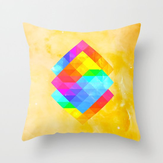 Rayon Throw Pillow