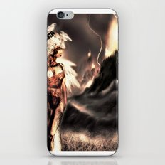 Valley lights iPhone & iPod Skin