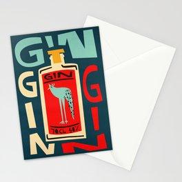 Gin Gin Gin Stationery Cards