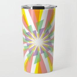 Geometic Rosette Travel Mug