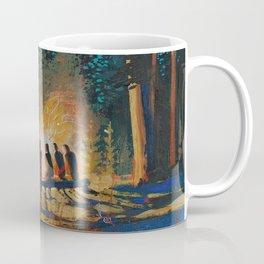 campfire - by phil art guy Coffee Mug