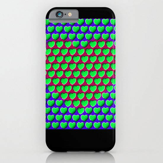 E-MOTION: Moving hearts iPhone & iPod Case