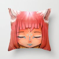 celestial Throw Pillows featuring Celestial by Alterant