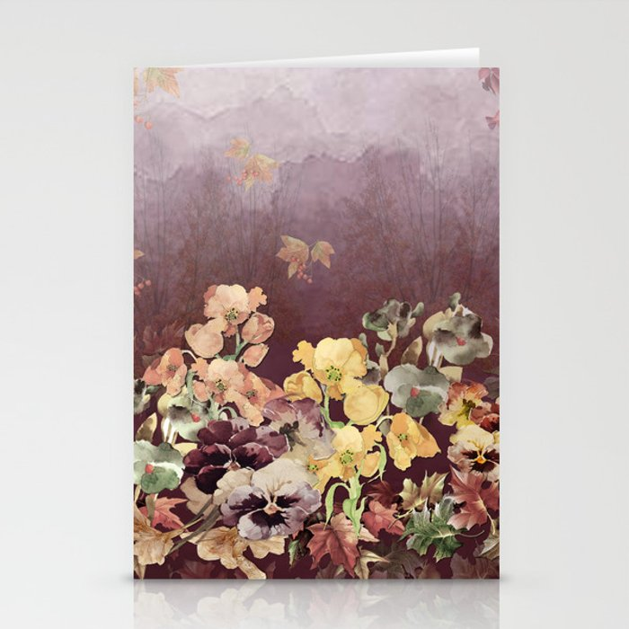 Falling Into Fall Stationery Cards