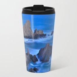 Blue sunset at the singing Mermaid Reef Travel Mug