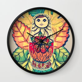Hidden Feelings Wall Clock